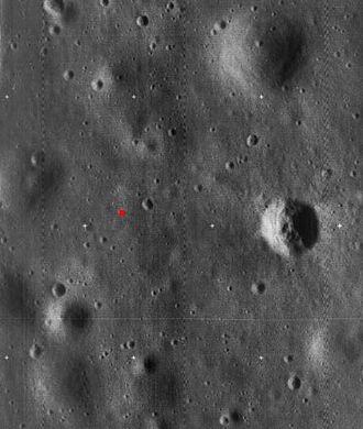 Tranquility Base - Image: Apollo 11 landing site 5076 h 3