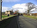 Approaching Milfield from the Southwest - geograph.org.uk - 288107.jpg