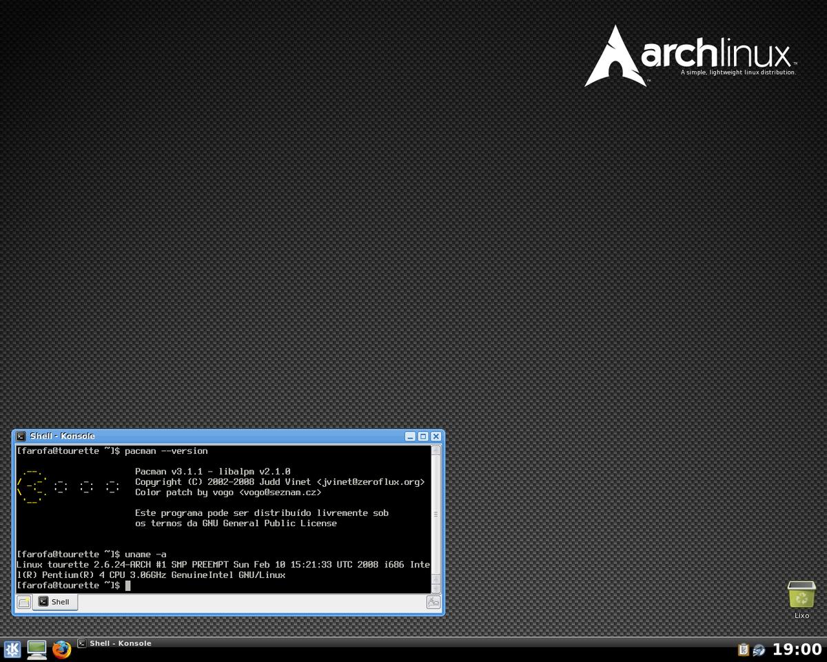 Arch Linux Wikipedia A Enciclopedia Livre