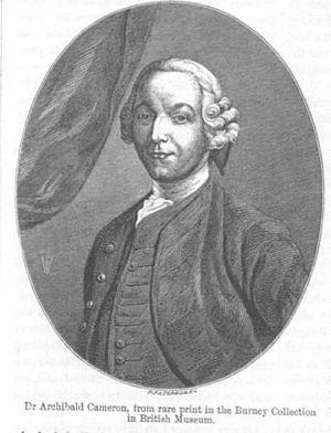 Loch Arkaig treasure - Archibald Cameron of Lochiel (1707–1753) — a Jacobite treasure hunter who paid with his life