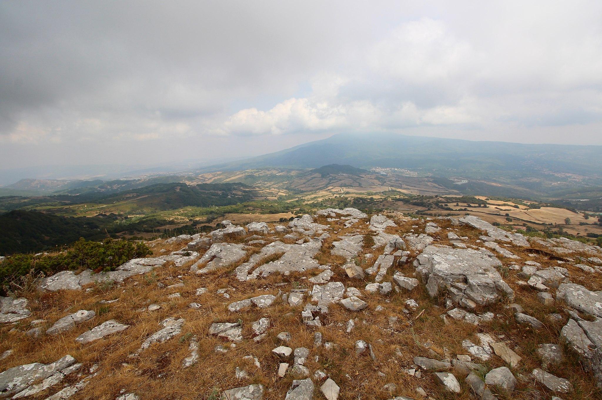 Arcidosso, Monte Labbro e la Torre Giurisdavidica (rovine)