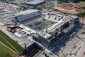 Arena Corinthians - Arena Corinthians - December 2012