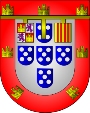 Duke of Guarda - The Coat of Arms of Infante Ferdinand, Duke of Guarda.