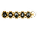 Armband av guld och florentinsk mosaik, 1800-tal - Hallwylska museet - 109979.tif