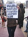 Armenian Presidential Elections 2008 Protest Mar 21 - Northern Ave political prisoners.jpg