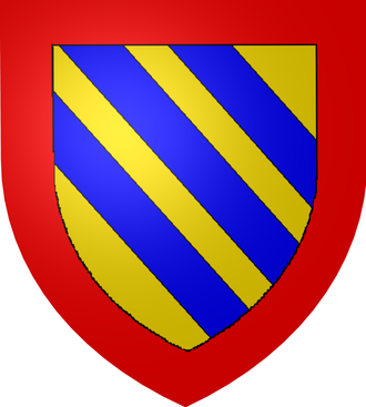 William III, Count of Ponthieu - Coat of Arms of the Counts of Ponthieu