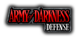 Army of Darkness: Defense - Image: Army of Darkness Defense logo