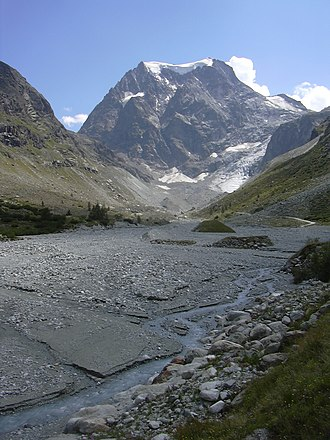 Val d'Hérens - Borgne d'Arolla with Mont Collon