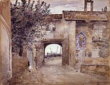 L'ingresso del Portello (1928) Collezioni d'arte della Fondazione Cariplo