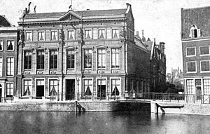 Willink van Collenprijs - The house of the Sociëteit Arti et Amicitiae at Rokin 3 in Amsterdam. This is where the Willink van Collenprijs was awarded.