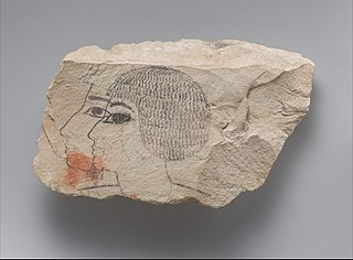 Ostracon of Senemut and Djehuty