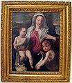Artista toscano, forse copia da bronzino, madonna col bambino e s.giovannino, xvi sec..JPG