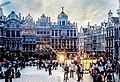Artists' stalls at Grand Place, Brussels.jpg