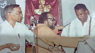 Aarudhra - Image: Arudra felicitating Mr.Menon