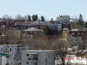 Asbestos, Quebec - Image: Asbestos 06