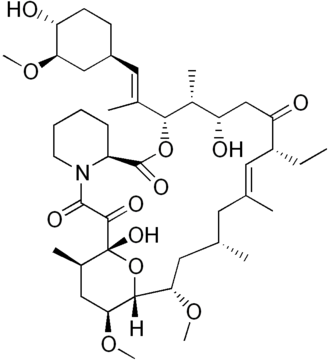 Ascomycin - Image: Ascomycin structure