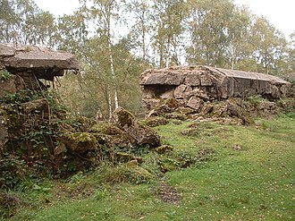 Hankley Common - Image: Atlantic Wall Training, Hankley Common, Large Breech Two