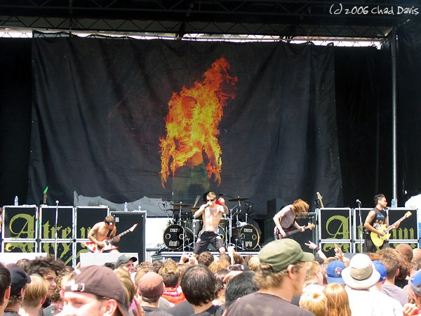 Atreyu at Alpine Valley Music Theatre in East Troy 2006