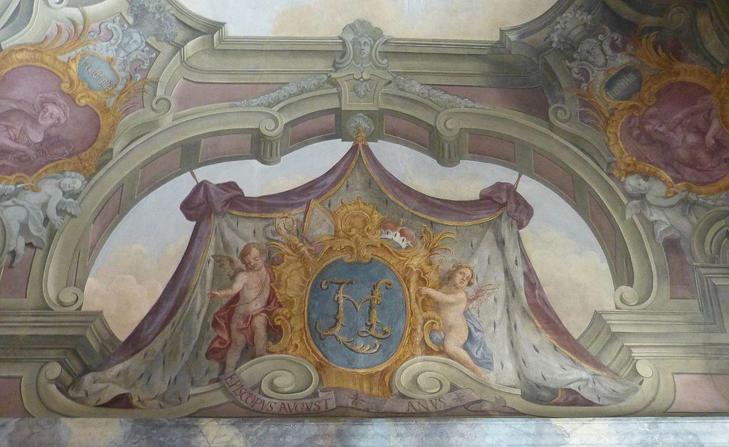 Augsburg Fürstbischöfliche Residenz Prunkaufgang Episcopius Augustanus.jpg