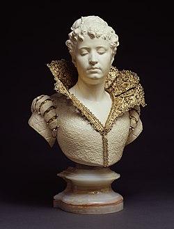 Augustin Jean Moreau-Vauthier - A Florentine Lady - Walters 71446.jpg