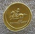 Augusto, aureo con ottaviano sul cavallo al trotto.JPG