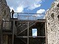 Aussichtslattform in der Ruine - panoramio.jpg