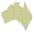 Australia locator Bass Strait.png
