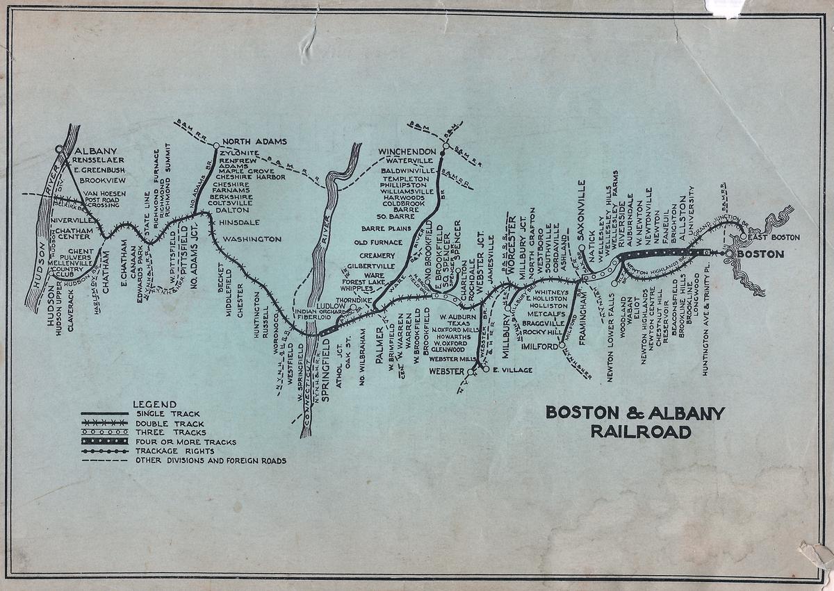 Boston and Albany Railroad - Wikipedia