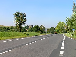 Býčkovice, Road 15 West.jpg