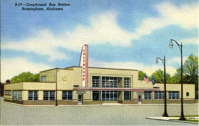 B-57, Greyhound Bus Station (NBY 813)