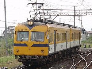 Ichibata Electric Railway - Image: BATADEN 3006F Ichibataguchi