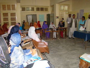 Benazir Bhutto Shaheed Youth Development Program - BBSYDP Training PIC 1