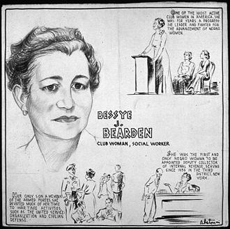 Bessye J. Bearden - Image: BESSYE J. BEARDEN CLUB WOMAN, SOCIAL WORKER NARA 535628