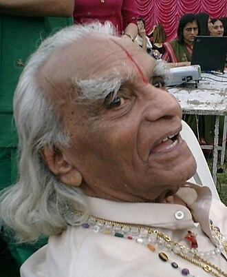 B. K. S. Iyengar - Iyengar on his 86th birthday in 2004