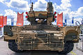 BMPT tank support combat vehicle at Engineering Technologies 2012 Rear.jpg