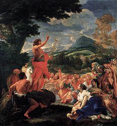 Giovanni Battista Gaulli: The Sermon of St. John the Baptist