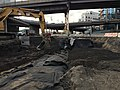 Backfilling detention pipe trench east of Thomson Avenue in Long Island City, Queens. (CQ033, 11-15-2017) (38487119351).jpg