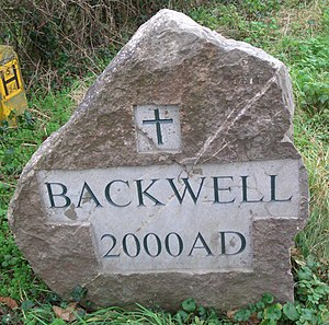 Village sign - Backwell village sign