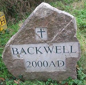 Village sign - Backwell village sign