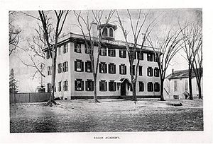 Bacon Academy - The school in 1896