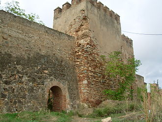 Alcazaba of Badajoz - Alpéndiz Tower and Gate.