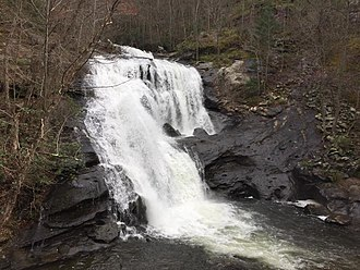 Cherokee National Forest - Bald River Falls