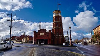 Ballarat East, Victoria - Ballarat East Fire Station, the oldest continually operating fire station in the Southern Hemisphere. It is the site of the original telephone, made by Henry Sutton