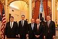 Balti riikide välisministrite kohtumine Senati välisasjade komitee esimehe Bob Corkeri ja aseesimehe Robert Menendeziga (26788564698).jpg