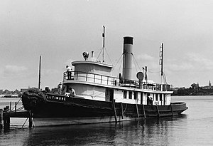 National Register of Historic Places listings in South and Southeast Baltimore - Image: Baltimore (tugboat), Baltimore, Maryland