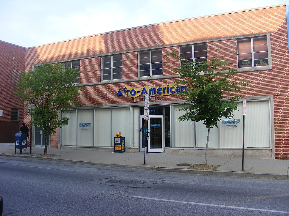 Baltimore Afro-American building (Baltimore 2008)
