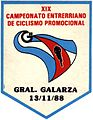 Banderín 19º Campeonato Entrerriano de Ciclismo Promocional - 13-11-1988.jpg