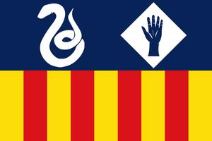 Manlleu - Image: Bandera de Manlleu