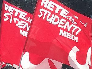 Rete degli Studenti Medi - Image: Bandiere della Rete degli Studenti Medi