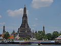 Bangkok along the Chao Phraya and Wat Arun (14881565269).jpg